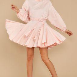 Twirl Me Around Blush Dress | Red Dress