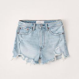 High Rise Mom Shorts   Abercrombie & Fitch US & UK