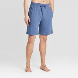 Men's Knit Pajama Shorts - Goodfellow & Co™ Blue   Target