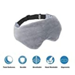 Asfrost Weighted Sleep Mask for Women Men, Weighted Eye Mask for Sleeping with Adjustable Strap, Eye   Amazon (US)