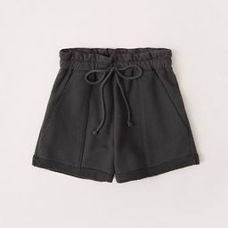 Knit Paperbag Shorts   Abercrombie & Fitch US & UK
