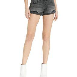 Free People Romeo Rolled Cutoff Shorts (Black) Women's Shorts | Zappos