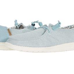 Hey Dude Wendy Chambray (Azur) Women's Shoes | Zappos