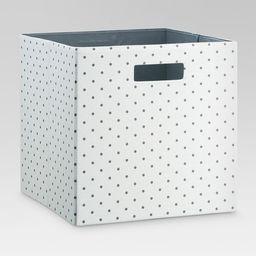 "Fabric Cube Storage Bin (13"") - Threshold™   Target"