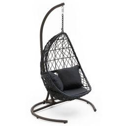 Belham Living Capeside Outdoor Wicker Hanging Egg Chair   Walmart (US)