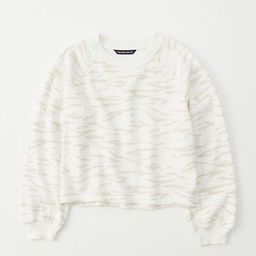 Puff-Sleeve Crewneck Sweatshirt   Abercrombie & Fitch US & UK