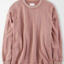 AE Fleece Oversized Sweatshirt | American Eagle Outfitters (US & CA)