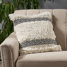 Bungalow Rose Camelford Boho Cotton Throw Pillow Cover | Wayfair | Wayfair North America