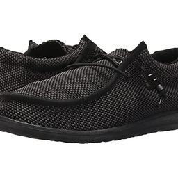 Hey Dude Wally L Sox (Black) Men's Shoes   Zappos
