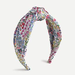Turban knot headband in Liberty® print   J.Crew US