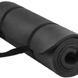 BalanceFrom GoYoga All-Purpose 1/2-Inch Extra Thick High Density Anti-Tear Exercise Yoga Mat with...   Amazon (US)