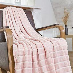 Bertte Throw Blanket Super Soft Cozy Warm Blanket 330 GSM Lightweight Luxury Fleece Blanket for B... | Amazon (US)