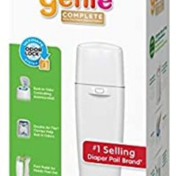 Playtex Diaper Genie Complete Diaper Pail, Fully Assembled, with Odor Lock Technology, Includes 1... | Amazon (US)