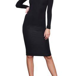 Body-Con Turtleneck Long Sleeve Dress   Nordstrom