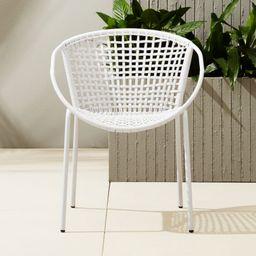 Sophia Silver Dining Chair + Reviews   CB2   CB2