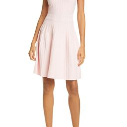 Sleeveless Knit Fit & Flare Dress   Nordstrom