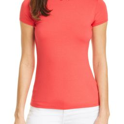 Ruffle Neck Knit Top   Nordstrom