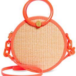 Agneti Woven Circle Crossbody Bag   Nordstrom