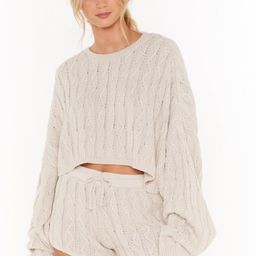Got Cable Knit Sweater and Shorts Lounge Set | NastyGal (US & CA)