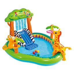 """Intex 85"""" X 74"""" X 49"""" Jungle Play Center Inflatable Pool with Sprayer 