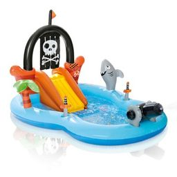"""Intex 97"""" x 76"""" x 59"""" Pirate Play Center Inflatable Pool with Sprayer 