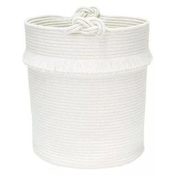 Round Fabric Toy Storage Bin White - Pillowfort™ | Target