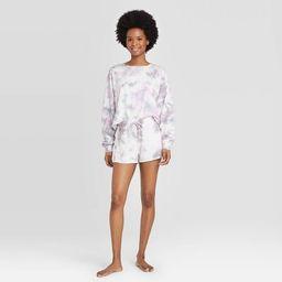 Women's Tie-Dye Lounge Shorts - Colsie™ Purple   Target