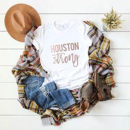 Houston Camiseta Fuerte - H-Town - Houston Shirt - Houston Pride - Houston Tee - Houston TShirt -... | Etsy (ES)