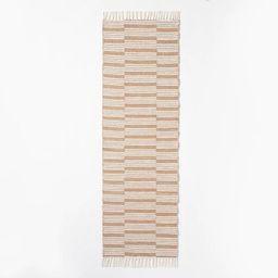 Rossmoor Indoor/Outdoor Plaid Scatter Rug Tan - Threshold™ designed with Studio McGee | Target