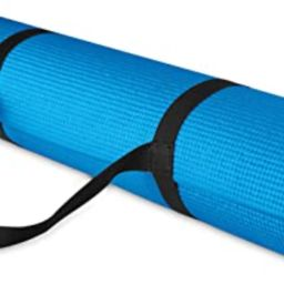 BalanceFrom GoYoga All Purpose High Density Non-Slip Exercise Yoga Mat with Carrying Strap   Amazon (US)