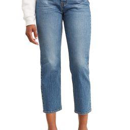 Wedgie Straight Leg Crop Jeans | Nordstrom