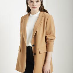 Long Tailored Blazer | Eloquii