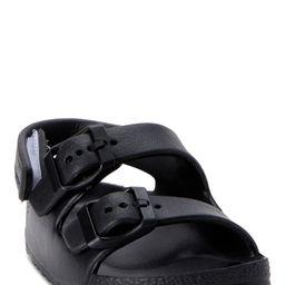 Wonder Nation Basic Footbed Buckle Sandals (Toddler Boys) | Walmart (US)