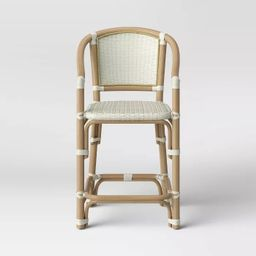 Parksley Rattan and Woven Counter Stool - Threshold™ | Target