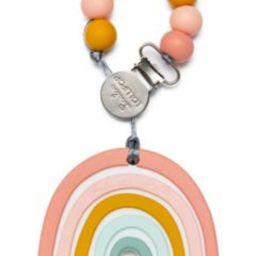 Rainbow Teething Toy & Holder   Nordstrom