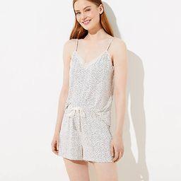 Polka Dot Pajama Shorts | LOFT