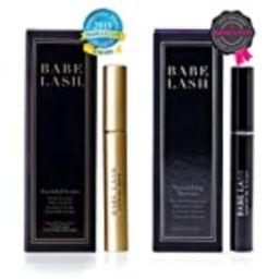 Babe Lash Eyelash Mascara with Eyelash Enhancer Serum for lush, healthier-looking lashes and brows - | Amazon (US)