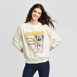 Women's Blondie Sweatshirt (Juniors') - Ivory | Target