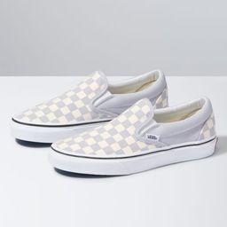 Checkerboard Slip-On | Shop Classic Shoes At Vans | Vans (US)