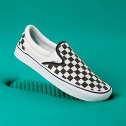 ComfyCush Checkerboard Slip-On | Shop Classic Shoes At Vans | Vans (US)