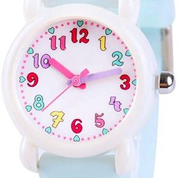 Venhoo Kids Watches 3D Cute Cartoon Waterproof Silicone Children Toddler Wrist Watch Time Teacher... | Amazon (US)
