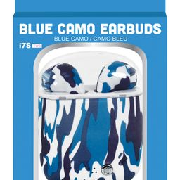 Blue Camo Wireless Ear Buds with Charging Case | Nordstrom