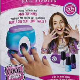 Cool Maker, GO Glam Nail Stamper, Nail Studio with 5 Patterns to Decorate 125 Nails (Packaging Ma... | Amazon (US)