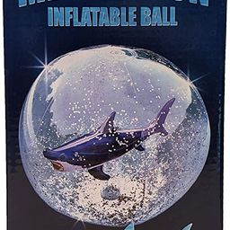 Universal Specialties Megalodon Inflatable Beach Ball Shark Swimming Pool Toy | Amazon (US)
