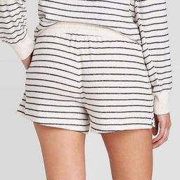 Women's Striped Perfectly Cozy Lounge Pajama Shorts - Stars Above™ | Target