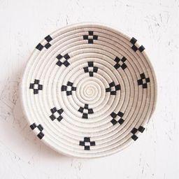 Small African Basket- Maraba // Rwanda Basket // Sisal & Sweetgrass Woven Basket // White, Black   Etsy (US)