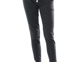 esstive Women's Ultra Soft Fleece Basic Midweight Casual Solid Jogger Pants | Amazon (US)