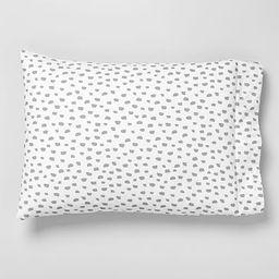 Organic Brushstroke Dot Pillowcases (Set of 2)   West Elm (US)