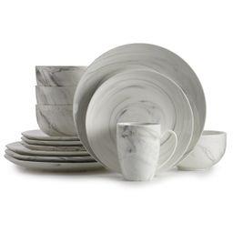 Food Network™ Marbled 16-pc. Dinnerware Set | Kohl's