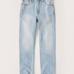 High Rise Ankle Mom Jeans   Abercrombie & Fitch US & UK